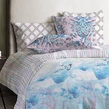 комплект белья mona liza chalet семейный наволочки 50x70 и 70х70 цвет синий