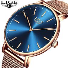 NEW Relogio Masculino <b>LIGE Fashion Mens</b> Watches Top Brand ...