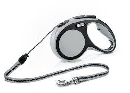 <b>Flexi Comfort cord</b> medium grey 5 meter, globaldogshop.com - Flexi