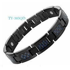 Stainless <b>steel jewelry titanium</b> bracelet magnet <b>jewelry</b> carbon fiber ...