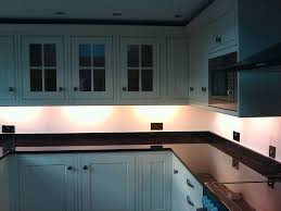 Under Cupboard Lights Kitchen Furniture Great Looking Led Under Cabinet Lighting For Kitchen