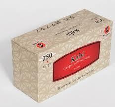 """<b>Салфетки бумажные Maneki</b> """"<b>Kabi</b>"""" двухслойные, белые, 250 штук"""