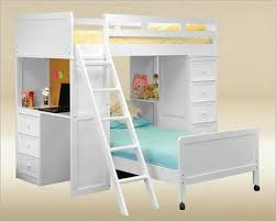 white bunk beds with stairs and desk bunk beds stairs desk