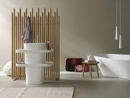 creative bamboo bathroom sink