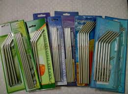 collapsible straw l 205mm d 5mm transparent flexible environmentally friendly disposable straws 300pcs lot free shipping