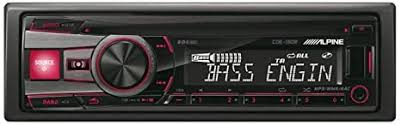 <b>Alpine CDE190R</b> Cd Receiver with Front USB Port and Aux Input ...
