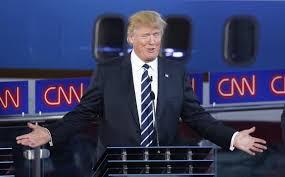 Image result for donald trump debate cnn