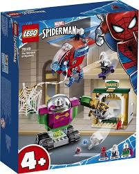 <b>Конструктор LEGO Marvel</b> Super Heroes 76149 <b>Угрозы</b> Мистерио ...