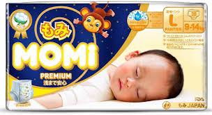 <b>Подгузники</b>-<b>трусики Momi Premium</b> Night, <b>L</b> ( 9-14 кг), 30 шт ...
