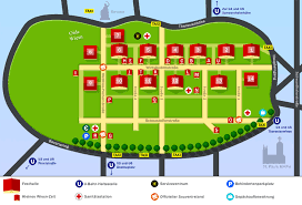 Map of the Oktoberfest - Oktoberfest