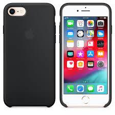 iPhone 8 / 7 <b>Silicone Case</b> - Black - Apple