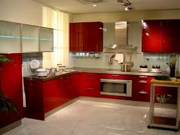 kitchen interior design ideas if you have a big kitchen there are no limitations in color choice red