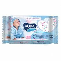 <b>Влажные салфетки Aura Детские</b> Ultra Comfort купить с ...