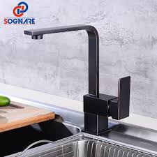 gooseneck rotation kitchen faucet single handle one hole mixer tap hot cold water deck mount