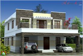 SIMPLE CONTEMPORARY STYLE KERALA HOUSE ELEVATION   ARCHITECTURE KERALASIMPLE CONTEMPORARY STYLE KERALA HOUSE ELEVATION