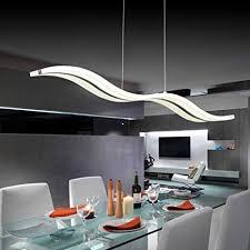 LightInTheBox Smart WiFi <b>LED Pendant</b> Light Wave Shape ...