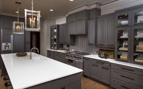 grey kitchen cabinets traditional