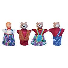 <b>Русский стиль Кукольный театр</b> Три медведя, 11254 - купить ...