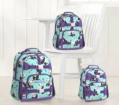 Aqua <b>Panda Kids Backpack</b>   Pottery Barn <b>Kids</b>