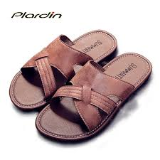 Aliexpress.com : Buy <b>New Summer</b> Genuine Leather <b>Men's Sandals</b> ...