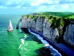 La falaise d'Etretat