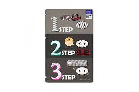 Holika <b>Holika Pig Nose Clear Black</b> Head 3 Step Kit Strong 1pcs