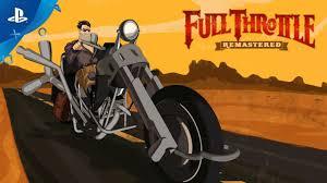 <b>Full Throttle</b> Remastered - Launch Trailer | PS4 - YouTube