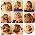 Сделать прическу на волосы до плеч