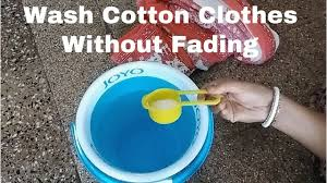 How To <b>Wash Cotton</b> Clothes To Avoid Fading II How To Preserve ...