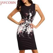 <b>Summer</b> Mini Dress <b>Women</b> Work <b>Office Lady</b> Sexy Sleeveless ...