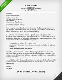customer service cover letter samples   resume geniuscall center cover letter example