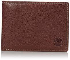 Timberland <b>Men's Genuine Leather</b> RFID Blocking Passcase ...