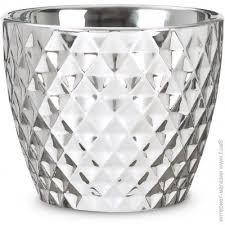 ᐈ Купить SCHEURICH <b>Кашпо керамическое Mirror</b> Silver ...