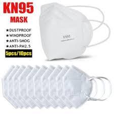 High Quality 5pcs/10pcs KN95 Prevent Anti-Dust ... - Vova