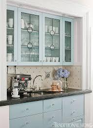 cabinet glass kitchen