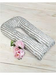 <b>Наволочка к подушке</b> для беременных U-образная 340х35 (бязь ...