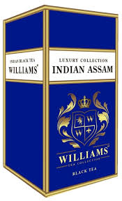 <b>Чай черный Williams</b> Luxury collection Indian assam — купить по ...