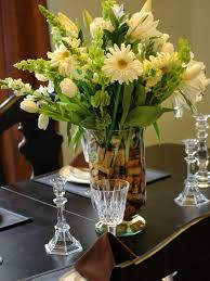 flower arrangements dining room table: awesome simple dining room table floral arrangements