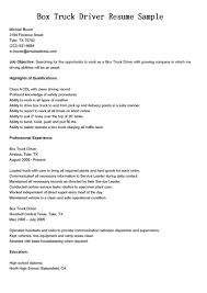 doc truck driver resume sample and tips com cover letter cdl driver resume resume for cdl driver cdl driver