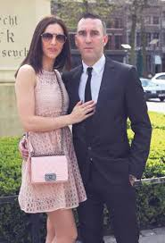 Fernando Ricksen with Wife Veronika