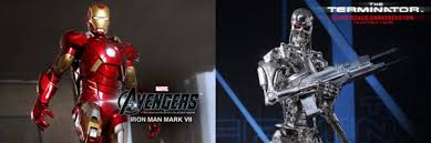 <b>Hot</b> Toys <b>Iron</b> Man Mark VII and The Terminator Collectible Images ...