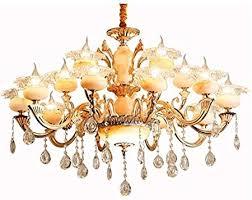 Lanlingwang <b>European</b>-style crystal chandelier <b>zinc alloy</b> hall living ...