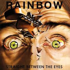 <b>RAINBOW</b>   <b>Straight between</b> the eyes - Nuclear Blast