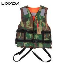 <b>Lixada Adult</b> Kayak <b>Life</b> Vest for Fishing EPE Foam Flotation ...