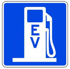 EV Charging station icon