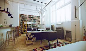 luxury inviting office design modern home. inviting white studio apartments interior with home library luxury office design modern