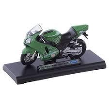 «<b>Модель мотоцикла Welly</b> KAWASAKI 2001 NINJA ZX-12R, 1:18 ...