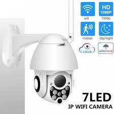 WiFi 2MP <b>HD 1080P</b> IP Camera Night Vision <b>IP66</b> Waterproof ...