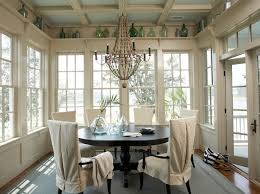 sunroom lighting ideas. gorgeous dine in sunroom with vaulted wood paneled ceiling sun filled skylights description from lighting ideas