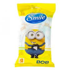 <b>Влажные салфетки Smile Minions</b> (15 шт.) - IRMAG.RU